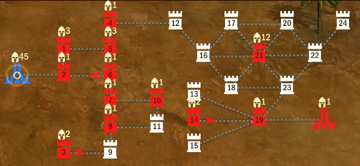 21 уровень 3 этап